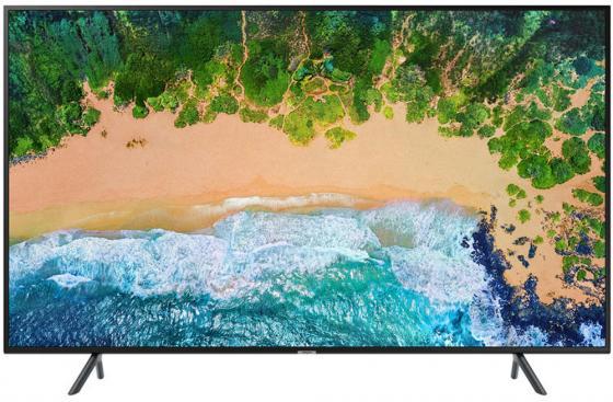 Телевизор 65 Samsung UE65NU7100UXRU черный 3840x2160 50 Гц Wi-Fi RJ-45 S/PDIF телевизор 65 samsung ue65nu7300uxru черный 3840x2160 100 гц wi fi smart tv rj 45