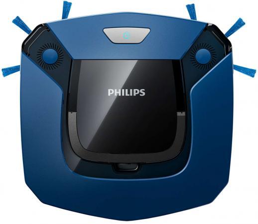 Робот-пылесос Philips SmartPro Easy FC8792/01 сухая уборка синий чёрный недорого