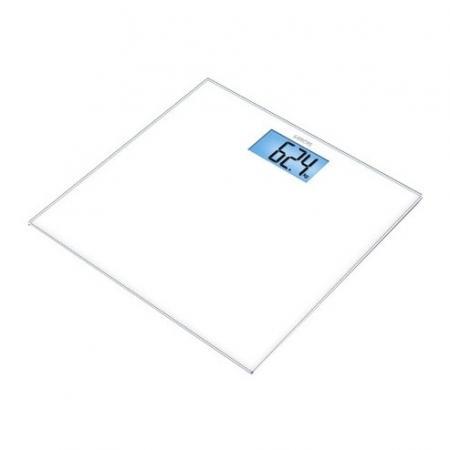 Весы напольные электронные Sanitas SGS 03 макс.150кг белый