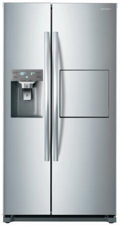 Холодильник DAEWOO FRN-X22F5CS серебристый цена