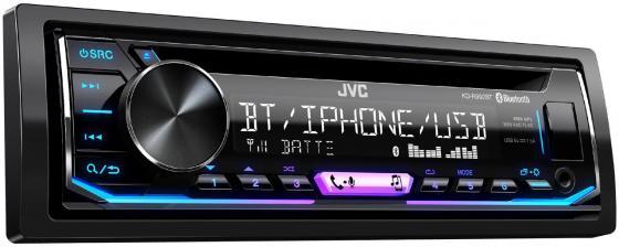 Автомагнитола CD JVC KD-R992BT 1DIN 4x50Вт автомагнитола jvc kd x355