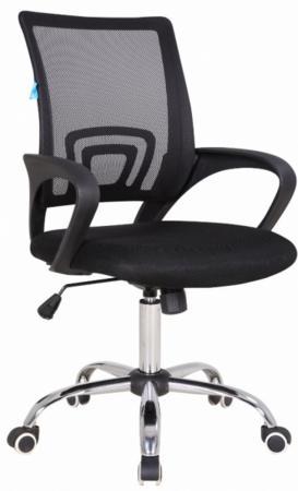 цена Кресло Бюрократ CH-695SL/BLACK спинка сетка черный TW-01 сиденье черный TW-11 крестовина хром онлайн в 2017 году