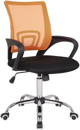 цена Кресло Бюрократ CH-695SL/OR/BLACK спинка сетка оранжевый TW-38-3 сиденье черный TW-11 крестовина хром онлайн в 2017 году