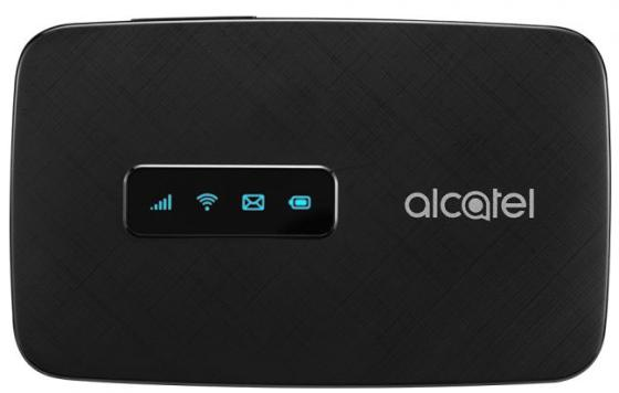 Модем 2G/3G/4G Alcatel Link Zone USB Wi-Fi Firewall +Router внешний черный bigpond f17 handheld portable 802 11 b g n wi fi mobile 4g wireless router black us plug