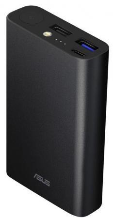 Внешний аккумулятор Power Bank 10050 мАч ASUS ZenPower ABTU012 Li-Ion 10050mAh черный mediacon sp30000a universal 5v 30000mah li ion polymer solar power bank charger black