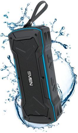 Колонка порт. Sven PS-220 черный 10W 1.0 BT/3.5Jack/USB 10м 1200mAh