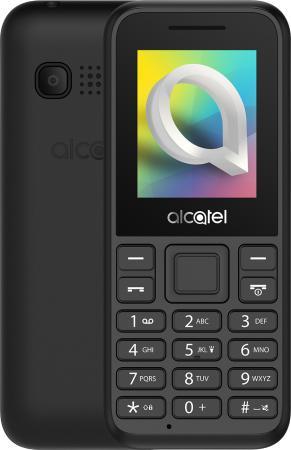 "Мобильный телефон Alcatel 1066D черный моноблок 2Sim 1.8"" 128x160 Thread-X 0.08Mpix GSM900/1800 GSM1900 MP3 FM microSD max32Gb цена и фото"