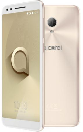 Смартфон Alcatel 3L 5034D золотистый металлик 5.5 16 Гб LTE Wi-Fi GPS 3G 5034D-2CALRU7