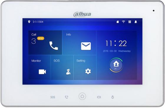 Видеодомофон Dahua DHI-VTH5221DW-C белый недорого