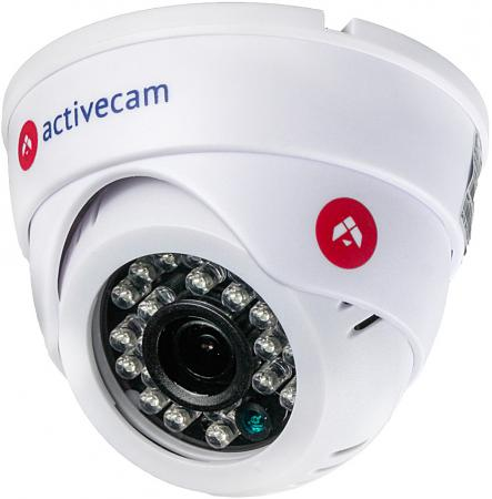 Видеокамера IP ActiveCam AC-D8121IR2W 2.8-2.8мм цветная корп.:белый
