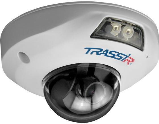 Камера IP Trassir TR-D4121IR1 CMOS 1/2.7 2.8 мм 1920 x 1080 H.264 MJPEG RJ-45 LAN PoE белый