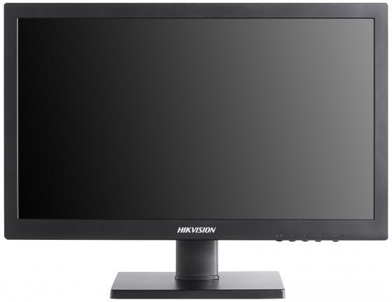"""Монитор 19"""" Hikvision DS-D5019QE-B черный TFT-TN 1366x768 200 cd/m^2 5 ms VGA монитор 19 5 asus vt207n черный tft tn 1600x900 200 cd m^2 5 ms vga dvi usb"""