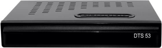 Комплект спутникового телевидения Триколор Full HD DTS 53L черный комплект спутникового телевидения триколор full hd gs b521