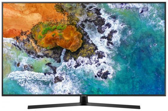 Телевизор 43 Samsung UE43NU7400UXRU черный 3840x2160 50 Гц Wi-Fi Smart TV USB RJ-45 телевизор жк samsung ue55nu7100uxru 554к smart tv