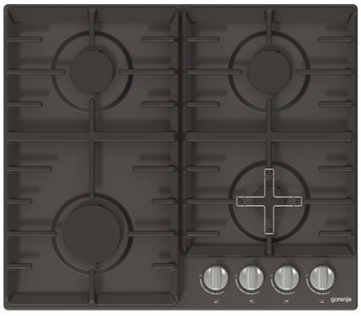 Варочная панель газовая Gorenje G641ZAMB черный варочная панель электрическая gorenje ect693orab черный