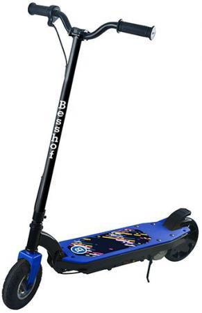 Электросамокат двухколёсный BESSHOF S200 8 черно-синий электросамокат razor power core e100 цвет синий