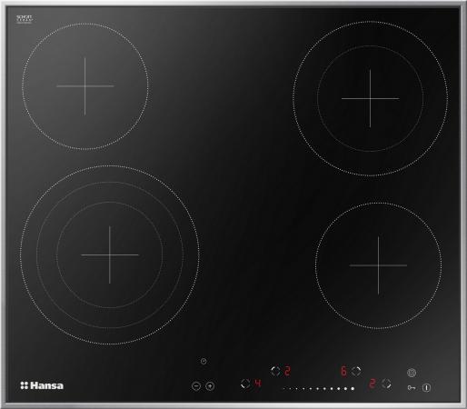 Варочная панель электрическая Hansa BHCI96808 черный электрическая варочная панель teka tb 630