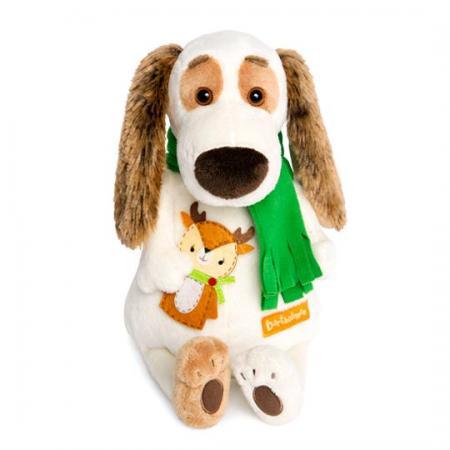Мягкая игрушка BUDI BASA Bart27-009 Бартоломей в шарфе и с оленем budi basa мягкая игрушка budi basa свинка рита