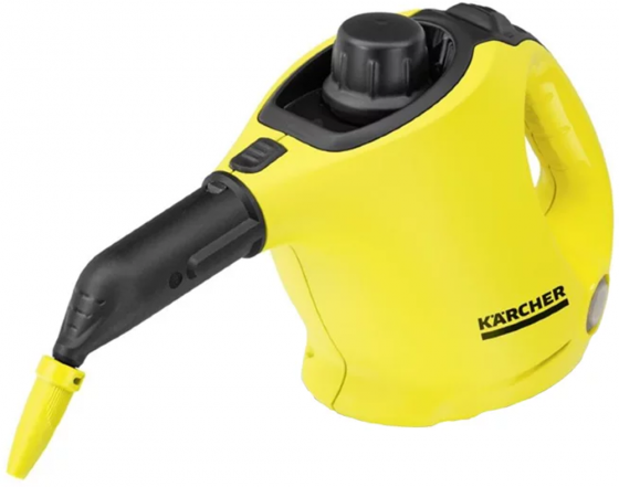 Пароочиститель Karcher SC 1 EasyFix EU-II, ручной, 1200Вт, давление 3 бар, набор насадок karcher 15162600 sc 1 пароочиститель