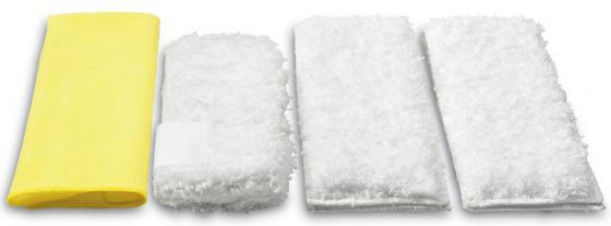 Аксессуар для пароочистителей Karcher, набор салфеток для кухни 4 шт цены