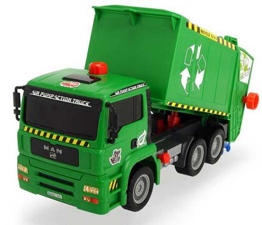 Мусоровоз Dickie Мусоровоз с контейнером AirPump зеленый 3805000 мусоровоз функциональный 55 см dickie