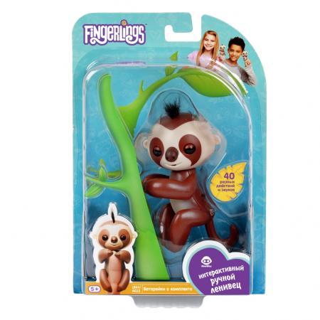Интерактивная игрушка Fingerlings Ленивец Кингсли от 5 лет