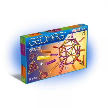 все цены на Магнитный конструктор Geomag Color 127 элементов 264