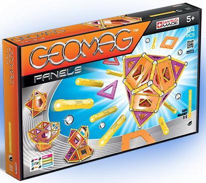 все цены на Магнитный конструктор Geomag 463 114 элементов