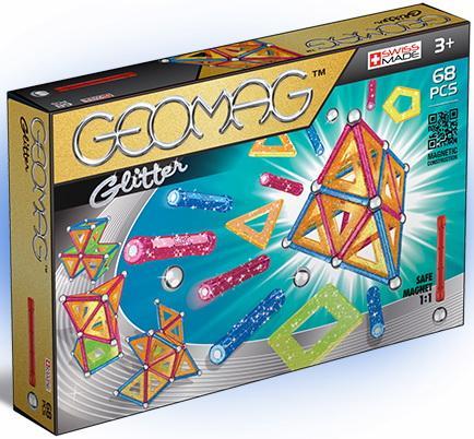 все цены на Магнитный конструктор Geomag 533 68 элементов