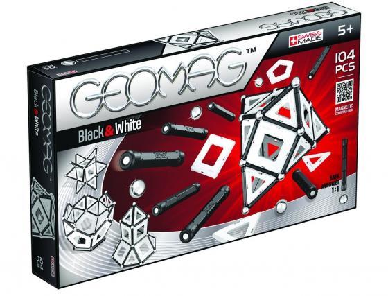 Магнитный конструктор Geomag Black and White 104 элемента 013 1more super bass headphones black and red