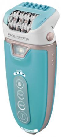 Эпилятор Rowenta EP 9303F0 аккум.,2 скор.,массажер,водонепрониц.,подсветка,плав.головка,золот./бирюзовый эпилятор rowenta ep 9330 d0