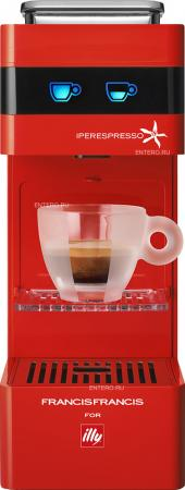 Кофемашина illy Iperespresso капсульная, красный delonghi nespresso pixie clips en 126 капсульная кофемашина