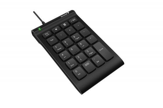 лучшая цена Клавиатура проводная GENIUS i130 USB черный