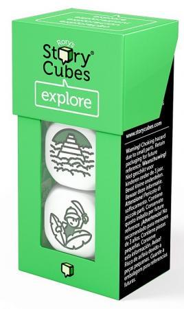 Настольная игра игральные кубики RORYS STORY CUBES Кубики историй Дополнительный набор Открытия square ndfeb magnet cubes silver 25 pcs