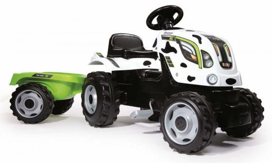 Каталка-машинка Smoby Farmer XL пластик от 3 лет на колесах белый 710113 smoby smoby мольберт детский трансформер синий