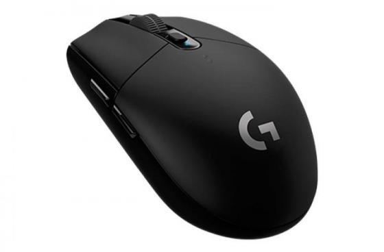 Мышь беспроводная Logitech G305 чёрный USB цена 2017