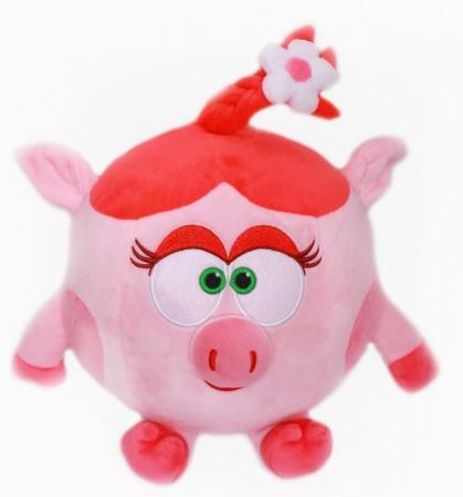 Мягкая игрушка-грелка смешарики Warmies Смешарики Нюша полиэстер полифилл warmies игрушка грелка cozy plush розовый кролик