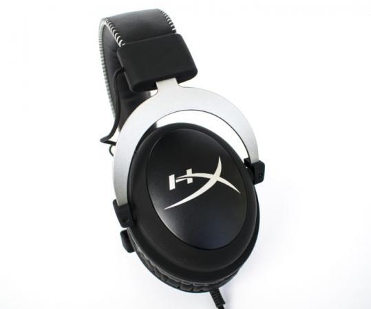Наушники Kingston HyperX Cloud Silver черный серебристый цена и фото
