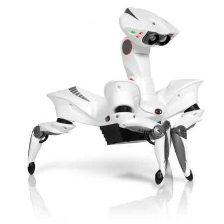 Робот электронный WOWWEE Робот Краб двигающийся 8039 роботы wowwee робот краб