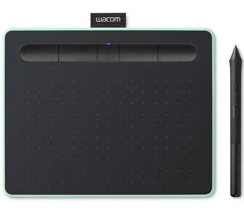 все цены на Планшет Wacom Intuos S Bluetooth Pistachio CTL-4100WLE-N онлайн