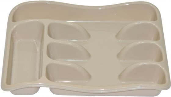 Лоток для столовых приборов Violet 0601/20 латте неактивный лоток для столовых приборов 26 33 5 см белый модель 0601 1