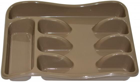 Лоток для столовых приборов Violet 0601/19 капучино неактивный лоток для столовых приборов 26 33 5 см белый модель 0601 1
