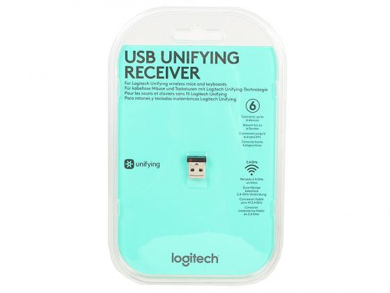 лучшая цена USB-приемник Logitech USB Unifying receiver 910-005236