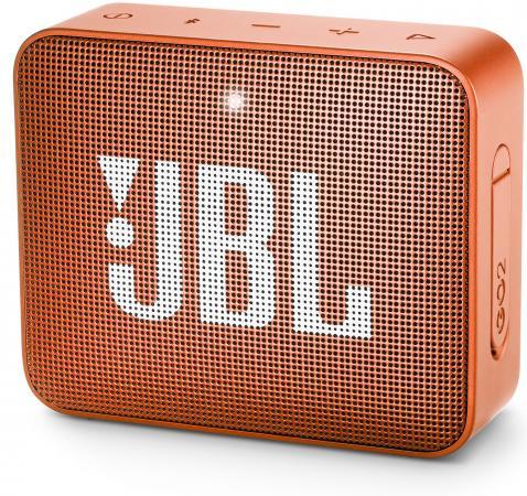 Динамик JBL Портативная акустическая система JBL GO 2 оранжевый jbl vp7212 64dpda