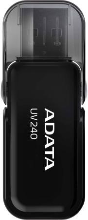 Фото - A-DATA Flash Drive 32Gb UV240 AUV240-32G-RBK {USB2.0, Black} usb flash drive 32gb a data uv130 auv130 32g rgd