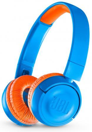 Наушники JBL JR300BT синий JBLJR300BTUNO mantra 4638