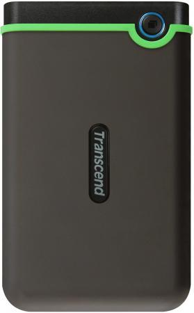 Transcend Portable HDD 500Gb StoreJet TS500GSJ25M3S {USB 3.0, 2.5, grey} netac k308 500gb usb 3 0 2 5 external hard drive hdd dark blue