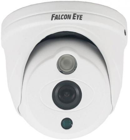 лучшая цена Falcon Eye FE-ID1080MHD/10M Уличная купольная цветная гибридная AHD видеокамера(AHD, CVI, TVI, CVBS) 1/2.8' Sony IMX323 Exmor CMOS , 1920*1080(25 fps), чувствительность 0.001Lux F1.2