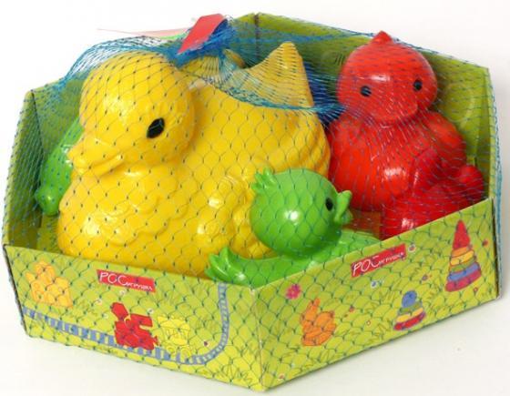 Набор игрушек для ванны Рославльская игрушка Набор для купания Ути-пути игрушки для ванны воронежская игрушка игрушка для ванны мишка с букетом 13 5 см