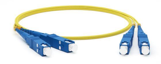 Hyperline FC-D2-9-SC/UR-SC/UR-H-1M-LSZH-YL Патч-корд волоконно-оптический (шнур) SM 9/125 (OS2), SC/UPC-SC/UPC, 2.0 мм, duplex, LSZH, 1 м цена и фото
